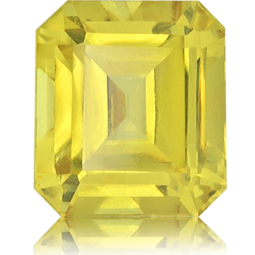 Fancy Sapphire,Emerald Cut 2.84-Carat