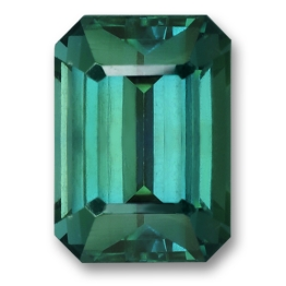 Fancy Sapphire,Emerald Cut 2.34-Carat