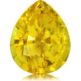 Fancy Sapphire,Pear 2.60-Carat