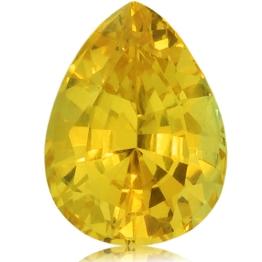Fancy Sapphire,Pear 2.05-Carat