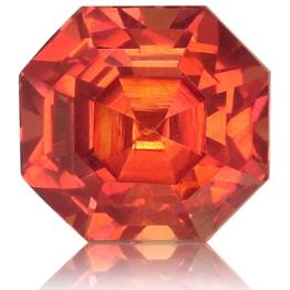 Fancy Sapphire,Asscher 1.35-Carat
