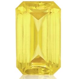 Fancy Sapphire,Emerald Cut 2.53-Carat