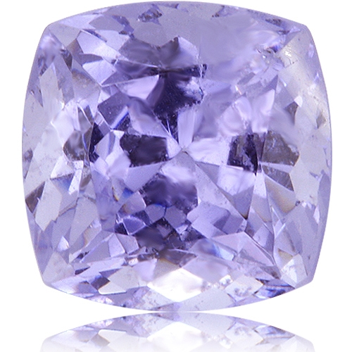 Fancy Tanzanite,Cushion 3.52-Carat