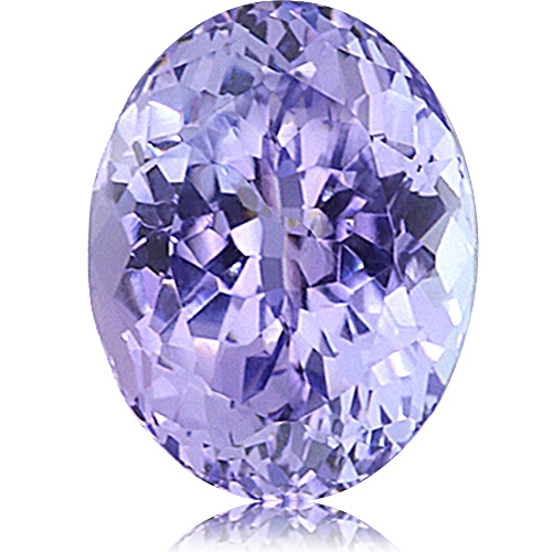Fancy Tanzanite,Oval 2.65-Carat