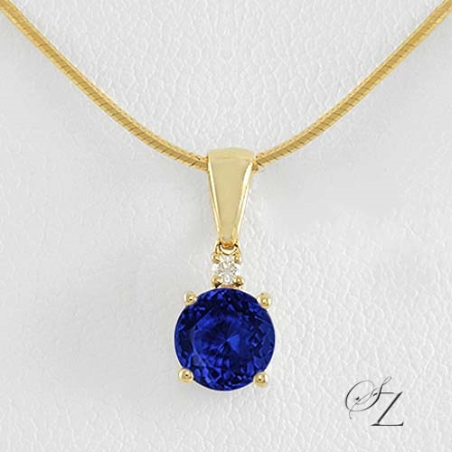 tanzanite-and-diamond-solitaire-pendant-jsp071