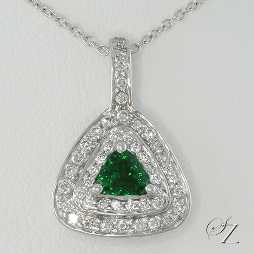 tsavorite-and-diamond-trillion-pendant-lssp148