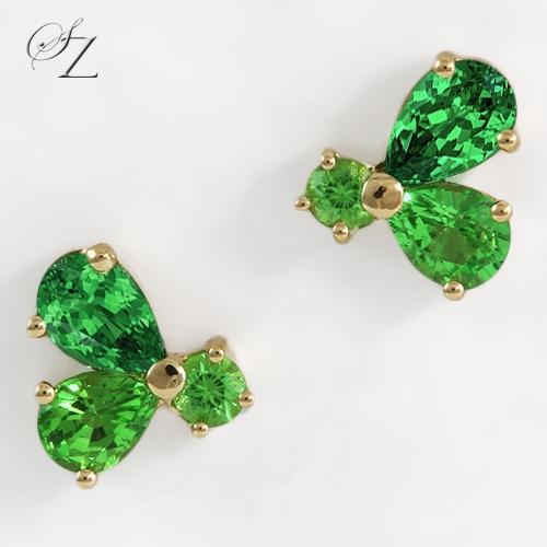tsavorite-dudu-stud-earrings-lste011