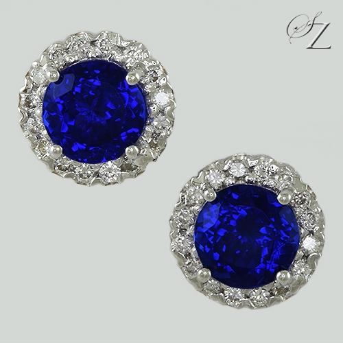 tanzanite-and-diamond-halo-stud-earrings-lste022