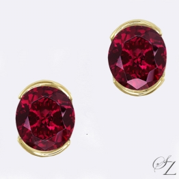 rhodolite-garnet-stud-earrings-lste023