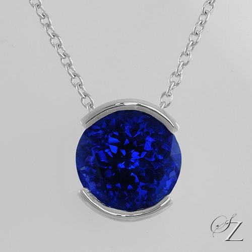 round-tanzanite-solitaire-pendant-lstp015
