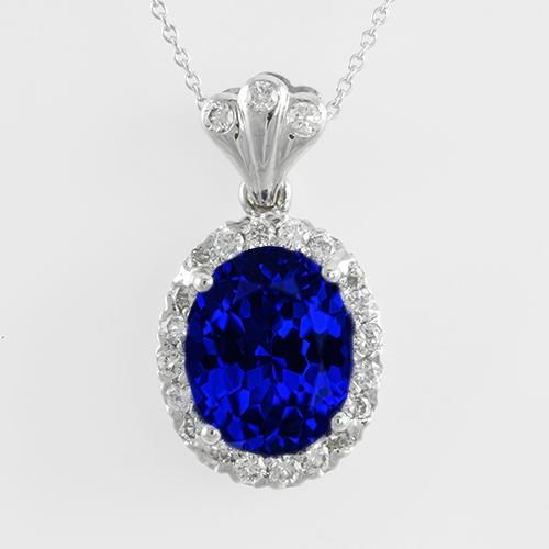 oval-tanzanite-and-diamond-halo-pendant-lstp022