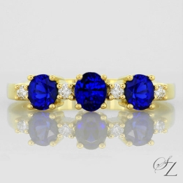 tanzanite-and-diamond-trilogy-ring-lstr069