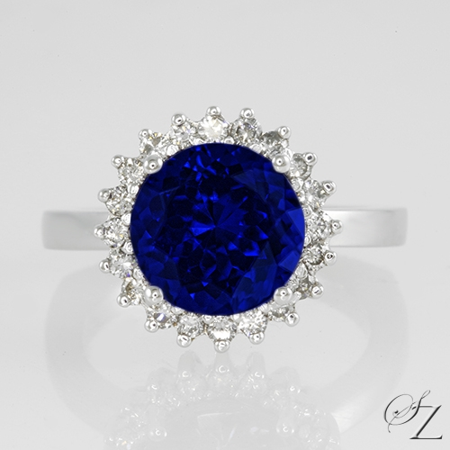 tanzanite-and-diamond-halo-ring-lstr099