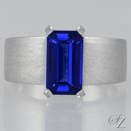 tanzanite-ring-with-brushed-finish-lstr232