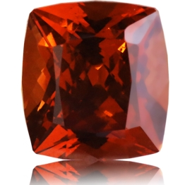 Malaia Garnet,Cushion 3.75-Carat