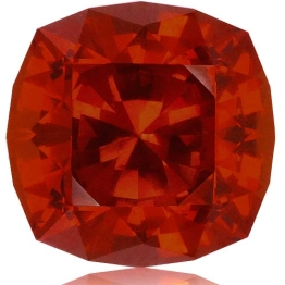 Malaia Garnet,Cushion 4.95-Carat