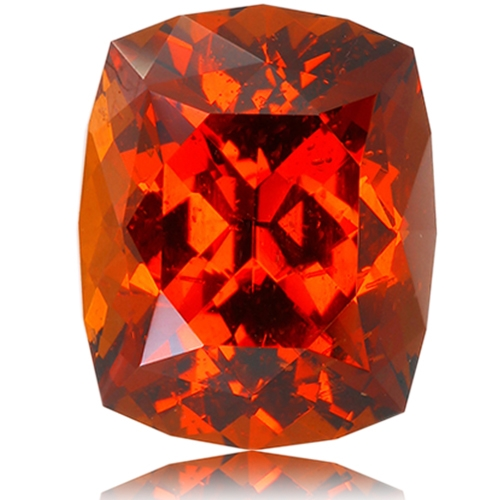 Malaia Garnet,Cushion 4.07-Carat