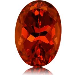 Malaia Garnet,Oval 2.69-Carat
