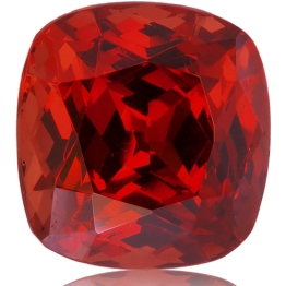 Malaia Garnet,Cushion 3.83-Carat