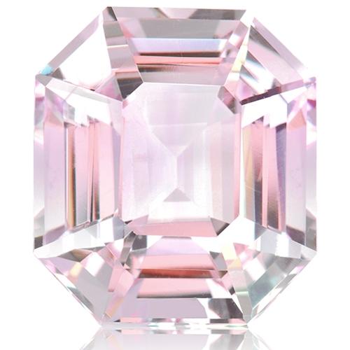 Morganite,Emerald Cut 23.75-Carat