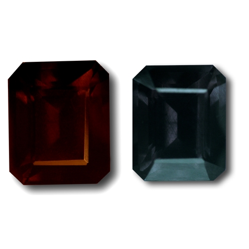 Color Change Garnet,Emerald Cut 3.11-Carat