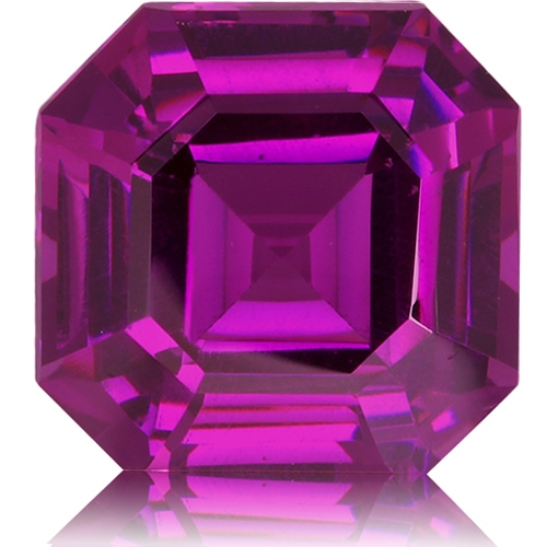 Royal Purple Garnet,Emerald Cut 2.86-Carat