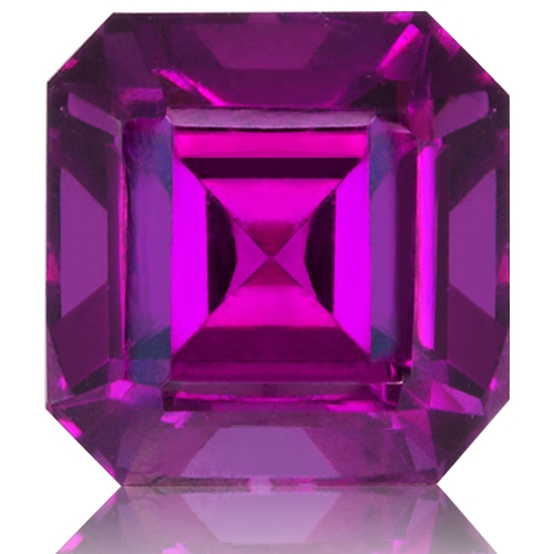 Royal Purple Garnet,Emerald Cut 2.23-Carat