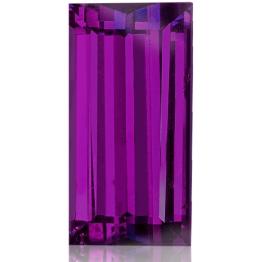 Royal Purple Garnet,Baguette 3.76-Carat