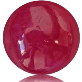 Ruby,Cabochon 3.70-Carat