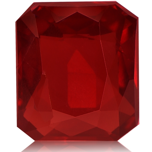Ruby,Emerald Cut 2.03-Carat