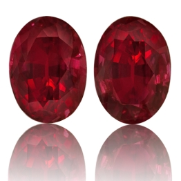 Ruby,Matched Pairs 2.29-Carat