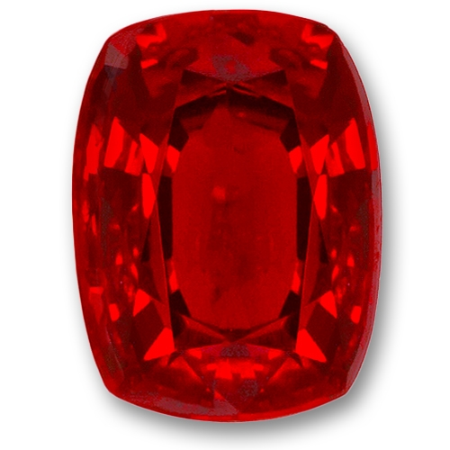 Ruby,Cushion 2.06-Carat