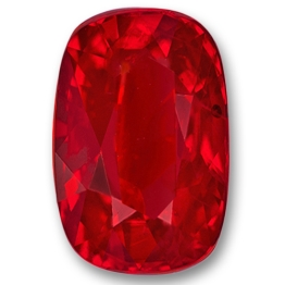 Ruby,Cushion 2.68-Carat