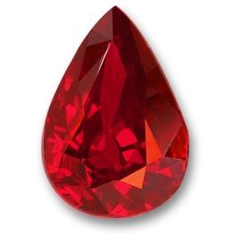 Ruby,Pear 2.02-Carat