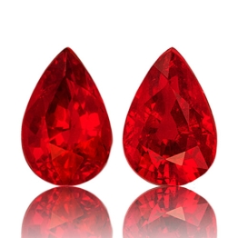 Ruby,Matched Pairs 1.61-Carat