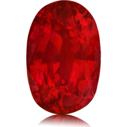Ruby,Oval 1.09-Carat