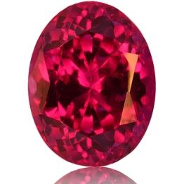 Ruby,Oval 1.02-Carat