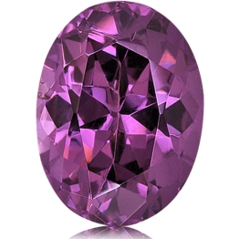 Spinel,Oval 3.06-Carat