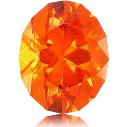 Spessartite Mandarin Garnet,Oval 2.09-Carat