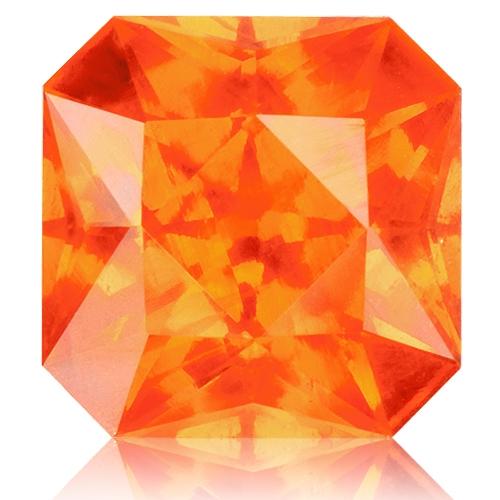 Spessartite Mandarin Garnet,Radiant 3.00-Carat