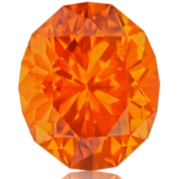 Spessartite Mandarin Garnet,Oval 2.55-Carat