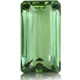 Tourmaline,Emerald Cut 3.05-Carat