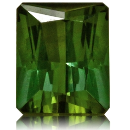 Tourmaline,Emerald Cut 3.78-Carat