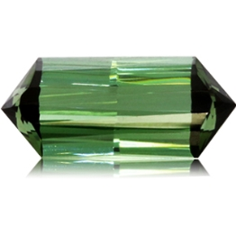 Tourmaline,Emerald Cut 5.77-Carat
