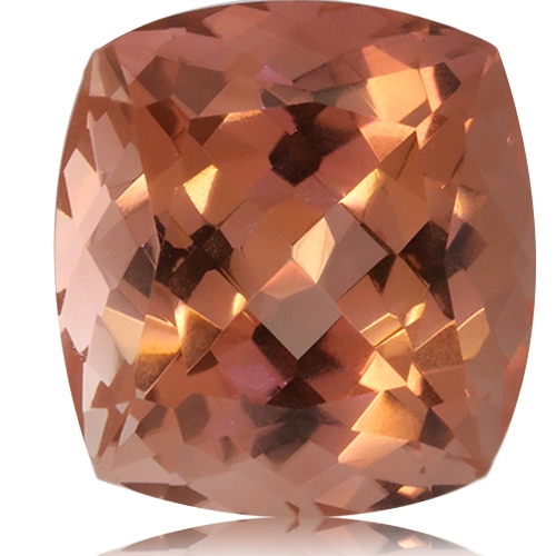 Tourmaline,Cushion 10.14-Carat