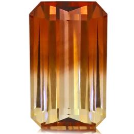 Tourmaline,Emerald Cut 7.68-Carat