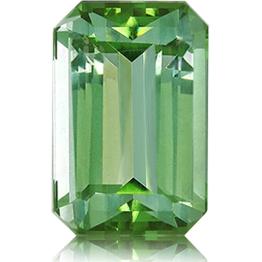 Tourmaline,Emerald Cut 3.66-Carat