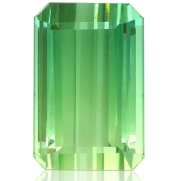 Tourmaline,Emerald Cut 9.90-Carat