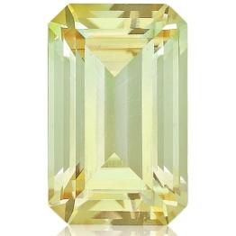 Tourmaline,Emerald Cut 4.31-Carat
