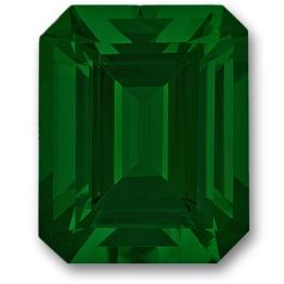 Tsavorite,Emerald Cut 1.15-Carat